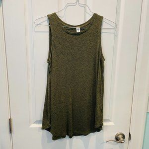 Old Navy Olive Green Luxe Long Tank Top S